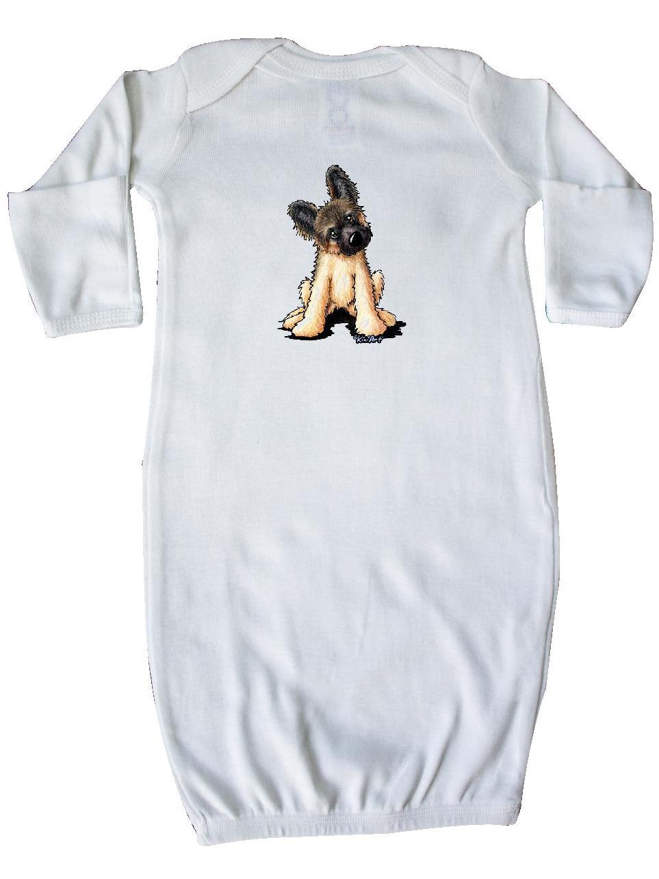 inktastic Shepherd Puppy Newborn Layette KiniArt