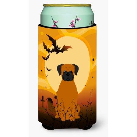 Halloween Fawn Boxer Tall Boy Beverage Insulator Hugger BB4381TBC