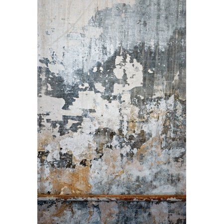 Concrete Fabric - HelloDecor Polyester Fabric 5x7ft Shabby Concrete Wall Photography Indoor Backdrop Prop Photo Background