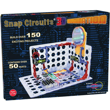 Snap Circuits 3D Illumination Set, - Snap Circuits Lights