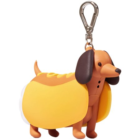 Bath and Body Works BARKING HOT DOG PocketBac Holder, Guard your favorite PocketBac & scare germs away with the help of this barking hot dog holder — just squeeze.., By