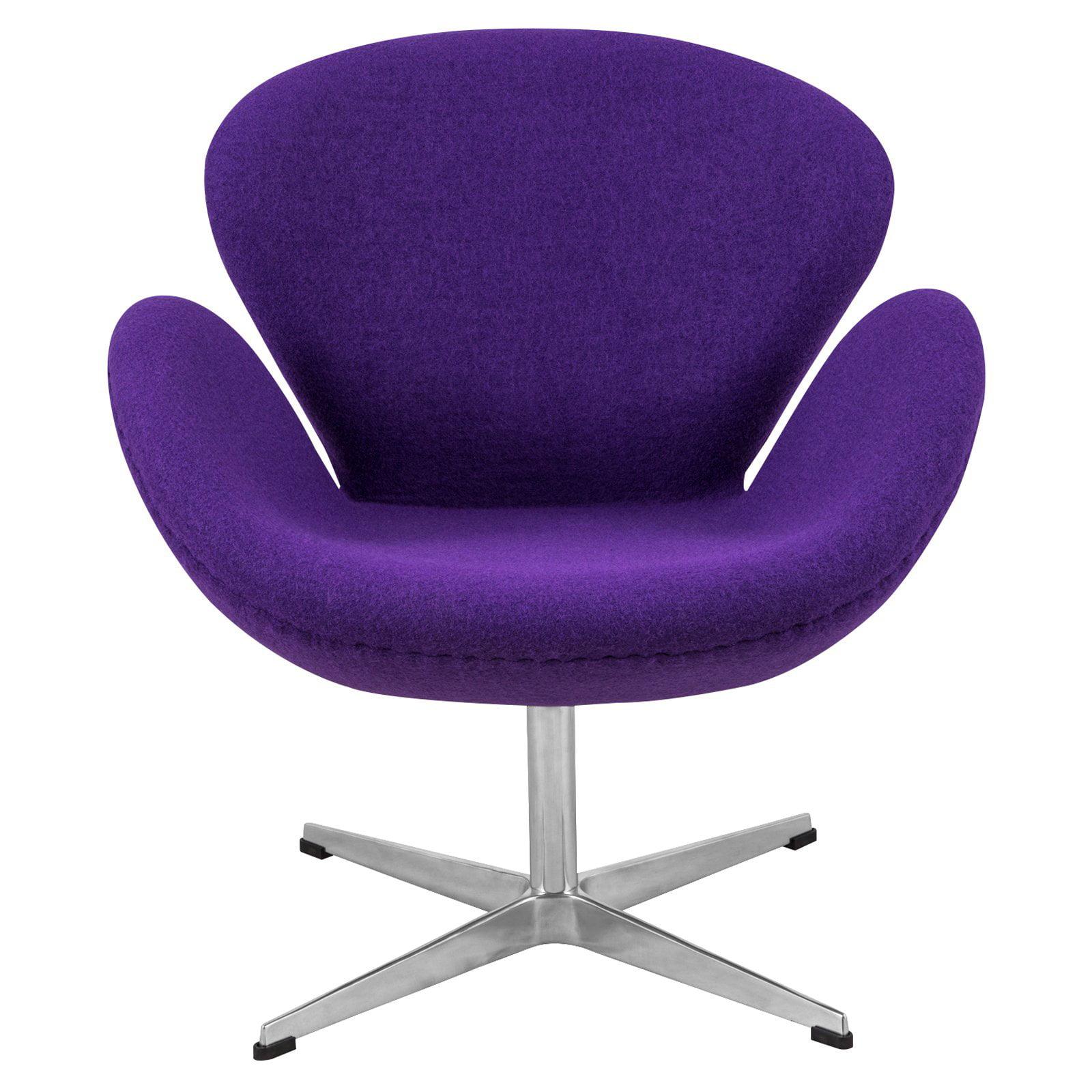 LeisureMod Arne Jacobsen Style Swan Chair