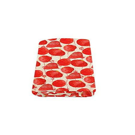 RYLABLUE Rose Blanket Fleece Throw Blanket for Sofa or Bed 58x80 inches - image 2 de 3