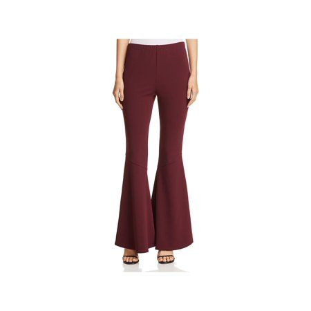 Vince Camuto Womens Flare Crepe Pants