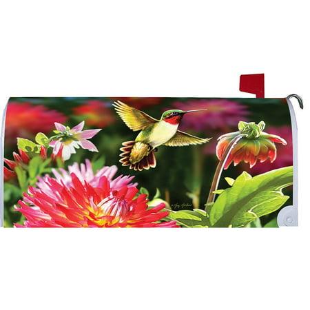 Custom Decor Mailbox Makeover - Hummingbird Dahlias