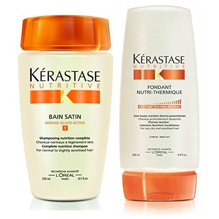 Kerastase bain satin 1 8 5 oz fondant nutri thermique 6 for Kerastase bain miroir conditioner