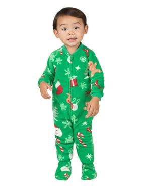 Footed Pajamas - Tis The Season Infant Fleece Onesie