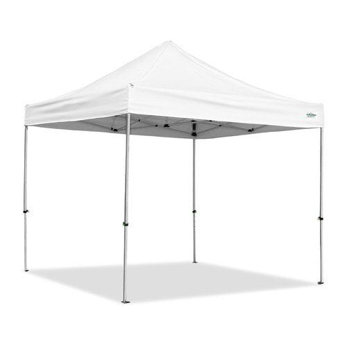 Caravan Canopy AlumaShade 10 Ft. W x 10 Ft. D Aluminum Pop-Up Canopy
