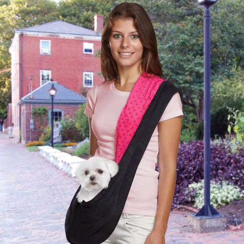 East Side Collection Reversible Sling Dog Carrier