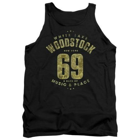 Woodstock 69 White Lake New York Adult Tank Top Shirt