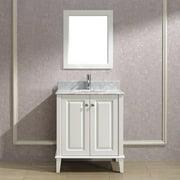 Bauhaus Bath Milly 30'' Single Bathroom Vanity Set with Mirror