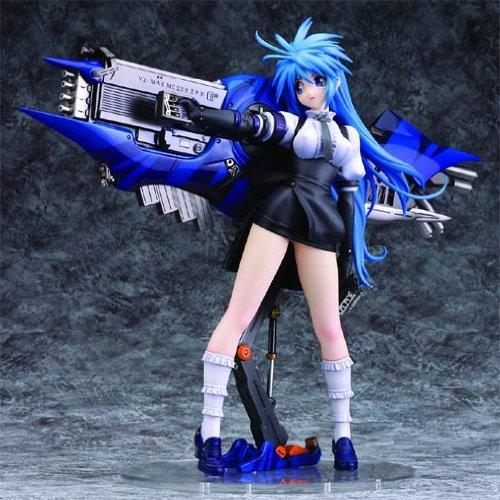 Mega Gun Japanese Schoolgirl Anime Figure   Limit Gunz Mine Yoshizaki    Manga Figurine PVC Statue Toy Weapon Action   Art Storm Collectible