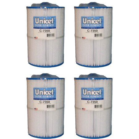 4) Unicel C-7350 Replacement Cartridge Filters 50 Sq Ft Caldera Spas New Style