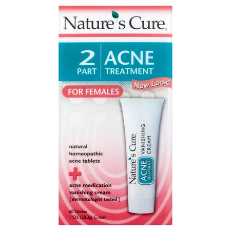 Natures Cure 2 Part Acne Treatment For Females