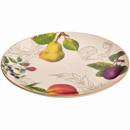 BonJour Dinnerware Orchard Harvest Stoneware 12