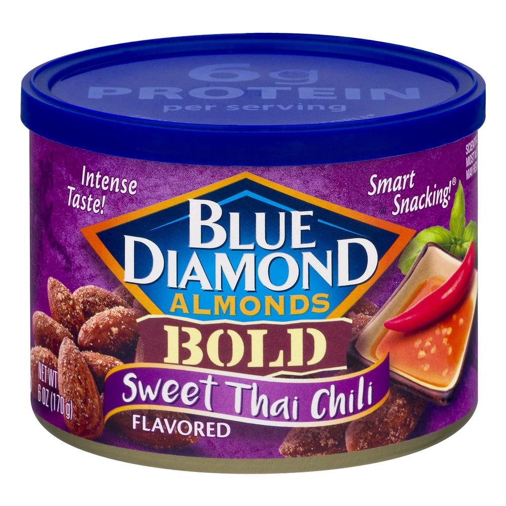 Blue Diamond Almonds Bold Sweet Thai Chili, 6.0 OZ by Blue Diamond Growers