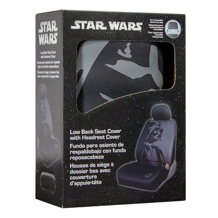 Star WarsTM Darth Vader Low Back Seat Cover With Headrest