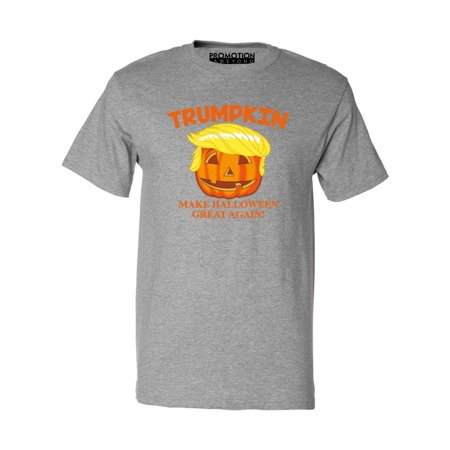 Trumpkin Make Halloween Great Again Funny Men's T-shirt, XL, H. - Great Halloween Menu Ideas