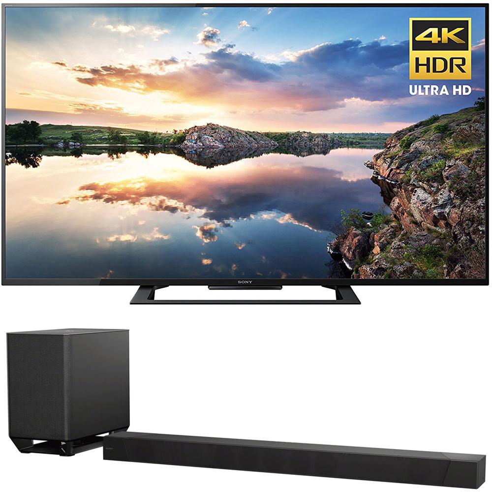Sony 70-Inch 4K Ultra HD Smart LED TV 2017 Model (KD70X690E) with Sony 7.1.2ch 800W Dolby Atmos Sound Bar