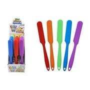 Diamond Visions 11-1836 Mini Silicone Spatula Frosting Spreader MultiPack in Assorted Colors (2 Spatulas)