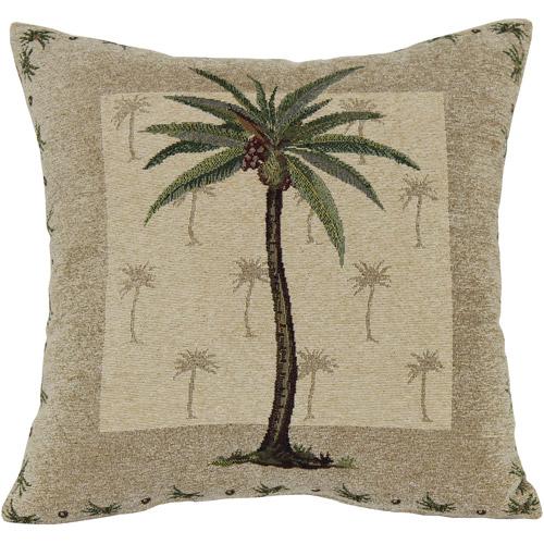Palm Tree Decorative Pillow