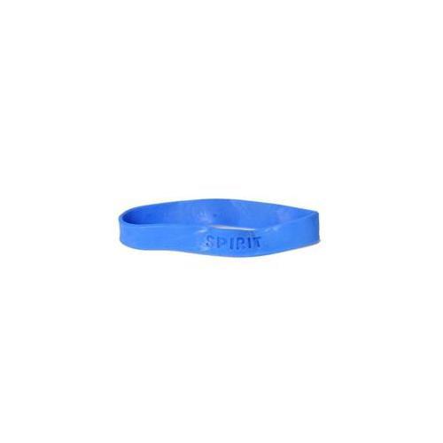 US Toy 154514 Blue Rubber Spirit Bracelets