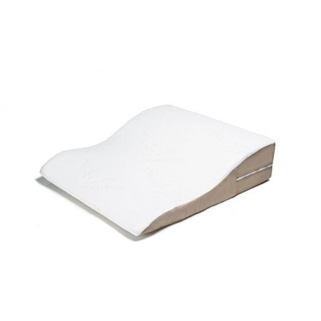 Avana Ogee Memory Foam Bed Wedge Support Polyurethane Foam Pillow with Bamboo Cover