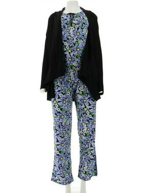 Carole Hochman Ultra Jersey Spring Bloom 4 PC Pajama A262490