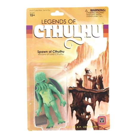 Legends of Cthulhu Spawn of Cthulhu Retro Action Figure