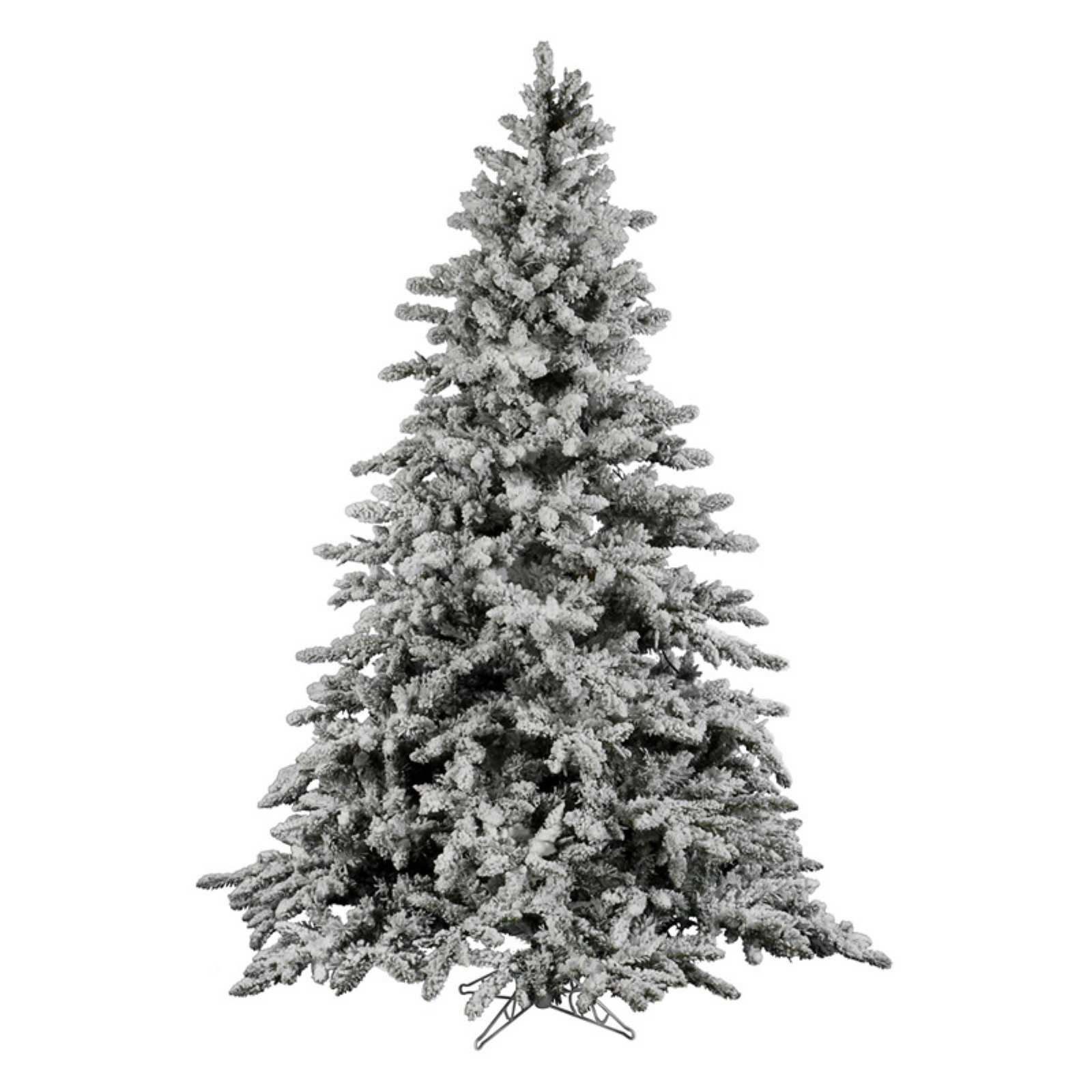 Vickerman 12 ft. Flocked Utica Fir Christmas Tree by Vickerman Company