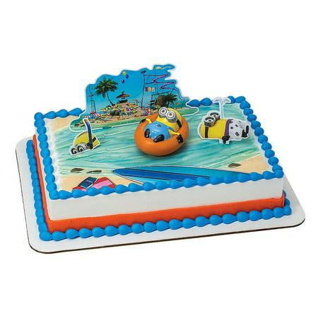 Wal Mart Bakery Decoset Despicable Me 2 Beach Party