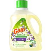 Gain Botanicals Plant Based Laundry Detergent, White Tea & Lavender, 64 Loads 100 fl oz