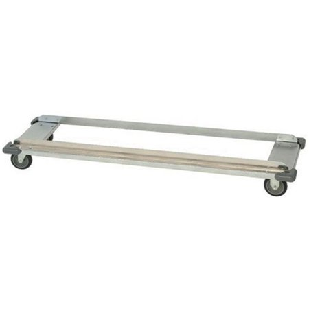 Quantum Storage DB1860C Wire Shelving Dolly Base, 18 x 60 in. - Chrome ()