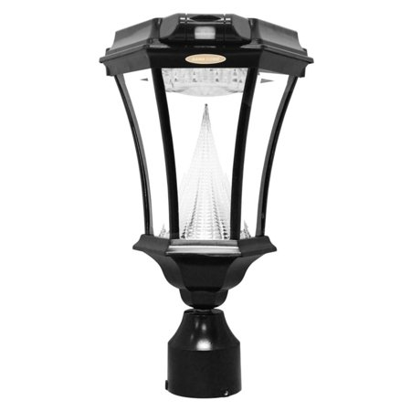 Victorian Solar Light Series with Motion Sensor - Single Lamp with 3 mounting brackets