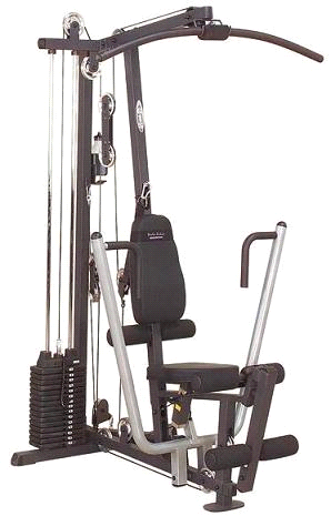 Body Solid G1S Selectorized Weight Stack Home Gym by