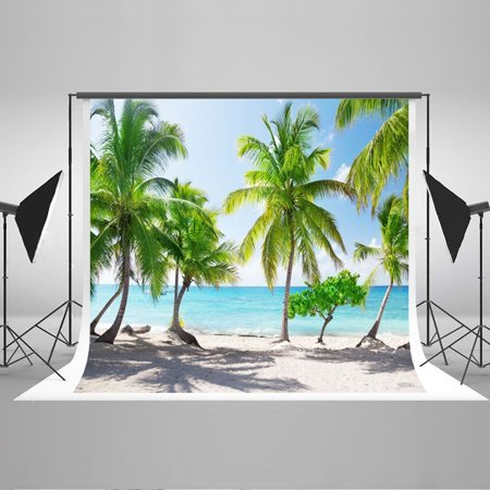 Rainforest Studio (GreenDecor Polyster 7x5ft Tropical Rainforest Photography Background Beach Photo Background Photography Studio)