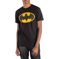 Men's Dc Comics Batman Classic Logo Reflective Graphic T-shirt