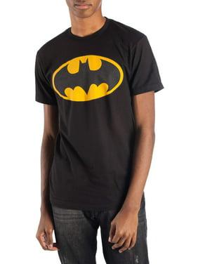 Men's Dc Comics Batman Classic Logo Reflective Graphic T-shirt