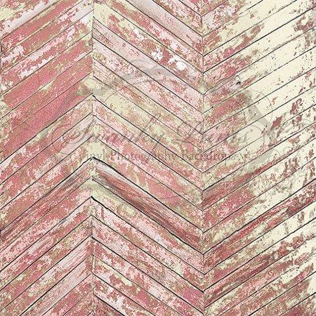 4x4 Ft Rose Crème Peeling Bois Vinyle Photographie Toile de fond