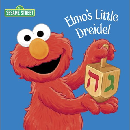 Plastic Dreidel - Elmo's Little Dreidel (Board Book)