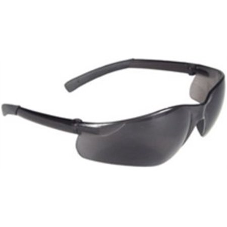 At1-20 Safety Glassessmokerad-Atac, Radians Inc., EACH, PR, Rubber tipped temple
