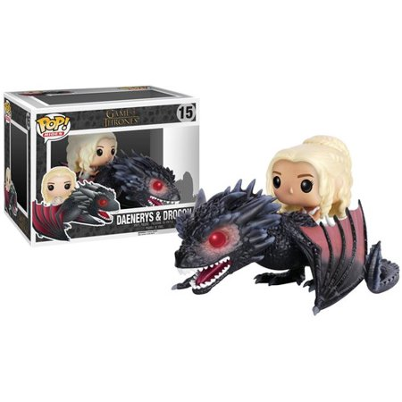 FUNKO POP! RIDES: GAME OF THRONES - DROGON & DAENERYS](Halloween Props Sale)