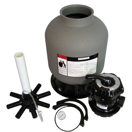 Sand Filter for Above-Ground Swimming Pool - 16 inch diameter - image 2 de 2