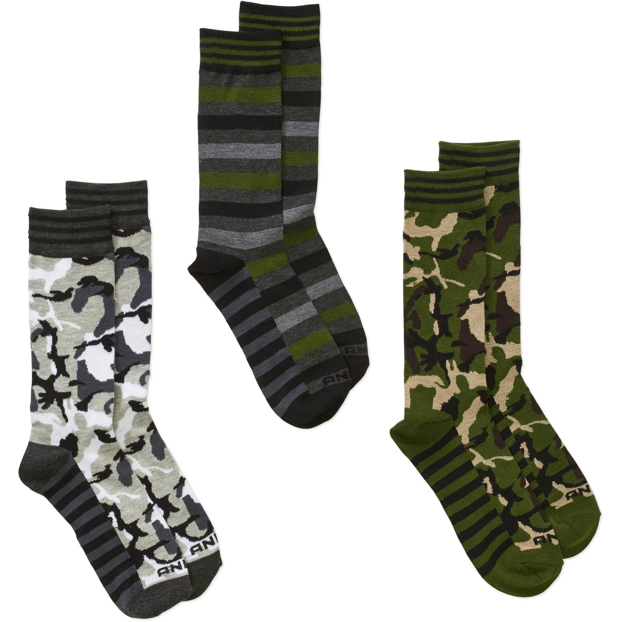 Men\'s Fashion Socks Camo, 3 Pack - Walmart.com