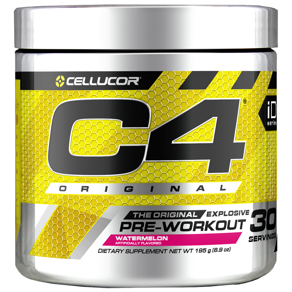 Cellucor C4 Original Pre Workout Powder, Watermelon, 30 Servings
