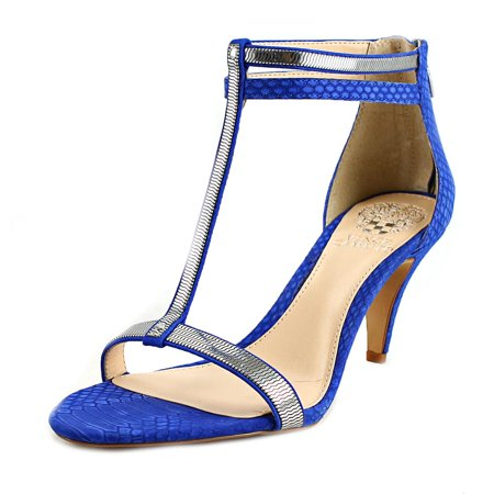 Vince Camuto Makoto Women  Open Toe Leather Blue Sandals