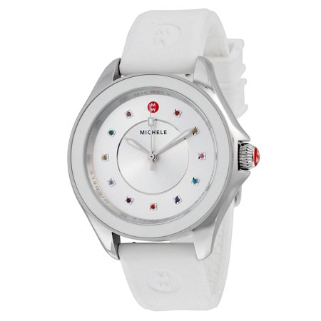 Michele Cape Silicone Ladies Watch MWW27A000007 ()