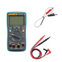 RICHMETERS RM301 Digital Multimeter 8000 counts Portable Battery Drives True-RMS Back light AC DC Voltage Multifunction Ammeter Current Ohm Auto/Manual Temperature Capacitance Tester