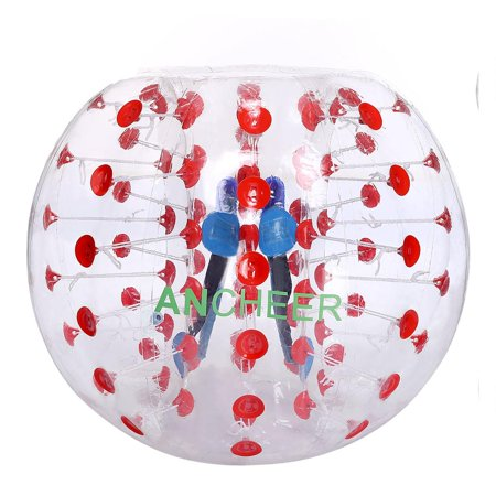 Inflatable Bumper Ball 1 2M Transparent Human Knocker Ball Bubble Soccer Glste