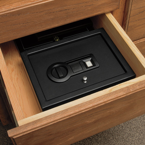 Stack-On Personal Drawer Safe with Biometric Lock